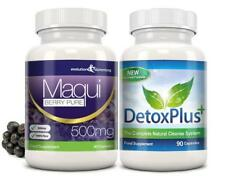 Maqui Berry Detox Limpieza de pérdida de peso dieta 1 mes Evolution Slimming