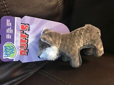 Happy Tails Ruff's Wolf Durable Dog Chew Squeaky Toy