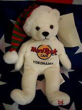 HRC HARD ROCK CAFE Yokohama Christmas 2003 Bear ha le 8'' Herrington