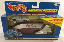 Hot Wheels Pavement Pounders Old Times Transport Service With Corvette
