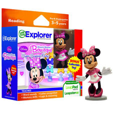 LeapFrog LeapPad Reading Educational Learning Game Cartridge Disney Minnie w Toy