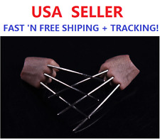 Custom Logan Hugh Jackman 1/6 SCALE Wolverine metal claws for Muscular figure