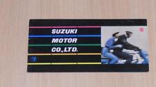 SUZUKI Range Motorcycle RARE Sales Brochure 1961 360 TL, 50 MA, 125 SG, 250 TB+