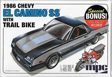 MPC 1986 Chevy El Camino SS w/ Trail Bike (with Carrier Rack)  in 1/25 888   ST