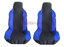 BMW E36 (serie 3) Compacto (94-01) asiento delantero cubre Racing Azul Panel 1-1
