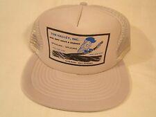 Vintage Hat Mens Cap TOM HALLEY, INC. Sharon, Oklahoma [Y155c]