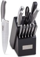 Cuisinart C77SS-13P 13pc Ss Cutlery Block Set Accs Graphix Collection (c77ss13p)