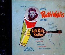 RUTH WALLIS - LATIN PARTY RHYTHMS - WALLIS ORIGINAL # 4 - (3) 45'S SET