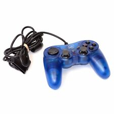 PDP Pelican PL-644 Wired Controller Gamepad for Sony Playstation 2 PS2 Blue