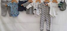 Baby Boys Bundle Of Clothing 0-3 <H1995