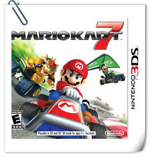 3DS MARIO KART 7 Nintendo Racing Games