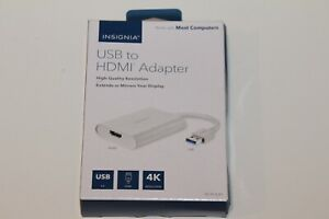 Insignia NS-PCA3H USB to HDMI Adapter OPEN BOX