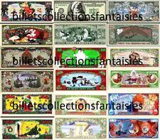 LOT de 9 Billets différents : JOYEUX NOEL. Commémoration / Collection