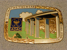 19. Heimatwettbewerb 1973 ADAC Gau Westfalen-West Badge emblem F. Hoffstatter