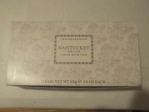 Crabtree Evelyn Nantucket Briar scented Bath Soap  Better be Buying! THREE BARS!