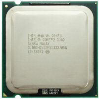 Intel Core 2 Quad Processor Q9650 SLB8W 3.00GHz 12M 1333 Quad Core LGA775 CPU