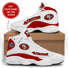San Francisco 49ers Customizable Sneakers