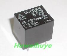 5pcs 9VDC Relay 943-1C-9DS 12A125VAC 7A30VDC 5pins Taiwan Hsin Da Brand NEW