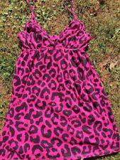 VICTORIA'S SECRET Only Sleep in PINK & SEXY LITTLE THING Teddies Gown Women Sz L