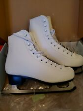 New listing New White American Athletic Women's Tricot Lined Ice Skates Size 5 Style #522
