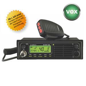 ALBRECHT AE 6491CT VOX CB-Funk 12/24 Volt, CTCSS, 4 Watt AM/FM, Neu + OVP