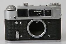 Revue 4 russische Messsucherkamera M39 nur Gehäuse #020700 ( Ident. FED 4 )