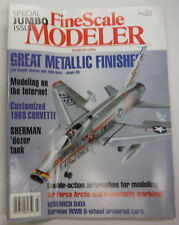 FineScale Modeler Magazine Sherman 'Dozer Tank 1968 Corvette March 1996 042515R