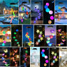 Solar LED Garten Wind Glockenspiel im Freien Farbwechsel Weihnachten Lichter