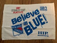 2007 New York Rangers Stanley Cup Playoffs MSG Rally Towel - Believe in Blue