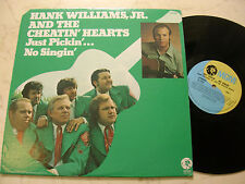Hank Williams, Jr. and the CHEATIN' ´Hearts Just PICKIN' ´73