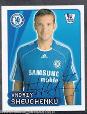 Merlin Fútbol - 2008 Premier League Pegatina no 192-Shevchenko-Chelsea