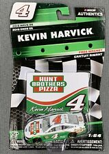 NASCAR AUTHENTICS #4 KEVIN HARVICK HUNT BROTHERS PIZZA W/ MAGNET - 2019 WAVE 5
