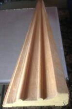 """Decorative Hardwood Lumber Mahogany Molding 1-1/16""""x 3-1/2""""x72"""" Unfinished"""