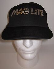 Maglite Flashlight Trucker Hat Cap - Snapback - Mesh Back - Metallic Silver Logo