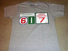 Boston Fenway Park 617 Area Code Pesky Monster #s T Shirt Size XLarge Red Sox