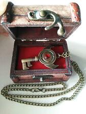 The Legend of Zelda Link Cosplay Boss Key Keychain Necklace Pendant Box Set Gift
