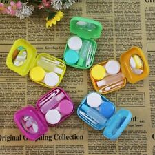 Glasses Contact Lenses Box Travel Contact Lens Portable Case Candy Color Bag New
