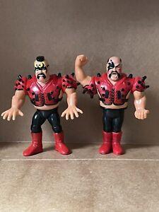 WWF WWE Hasbro Wrestling Figures. Series 4: LOD Legion of Doom Hawk & Animal