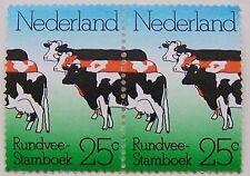 Ned. 1974 - NVPH 1052 Dubbele koe met plaatfout 1052 P postfris