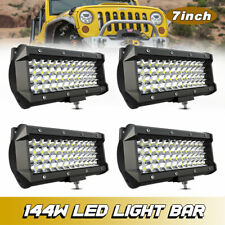 """7"""" Led Work Light Offroad Pod Lights white Driving Fog Lamp for Truck ATV UTV 6"""""""