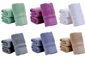 3 Pack 700 GSM Cotton Bath Towels Set 34x75 Inches Utopia Towels Wash Cloths Gym