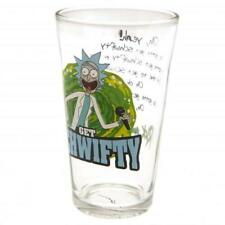 Rick And Morty Large Glass Schwifty Official Merchandise