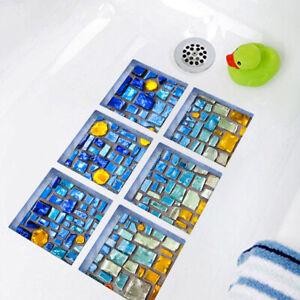 Stickers Mat Applique Bath Tub Treads Anti Non Slip Bathtub Shower Feet  ftdd