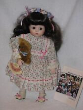 """14"""" Just Me Reproduction Porcelain Doll Designed By Bette Ball For Goebel 1989"""