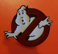 Ghostbusters Pin No Ghosts Movie Enamel Retro 80s Kids Metal Brooch Badge Lapel