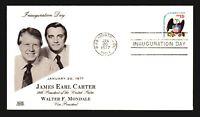 1977 Carter Inauguration Cover - Glen Cachet - Z14260