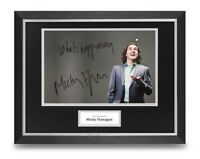 Micky Flanagan Signed 16x12 Framed Photo Display Comedian Autograph Memorabilia