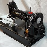 """Vintage~ """"Singer Featherweight""""~ 221K Sewing Machine with Case & Accessories"""