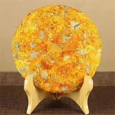 200g Premium Quality Calendula marigold cake, Calendula flower, Herbal Tea