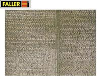 "Faller H0 170601 Mauerplatte ""Pflaster"" (1m² - 57,28€) - NEU"